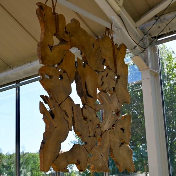 Holz-Wanddeko zum Hängen