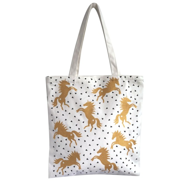 THE BAG 'Einhorn', gold,