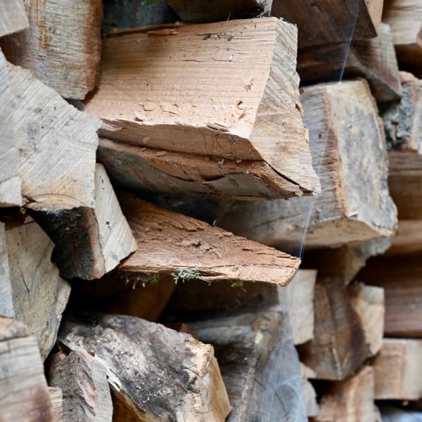 Brennholz (kostenfreie Lieferung nach Hause als Schüttgut)