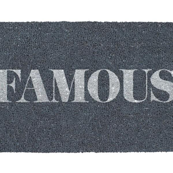 Kokos-Fußmatte 'FAMOUS'