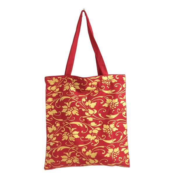 THE BAG 'Rote Ornamente'