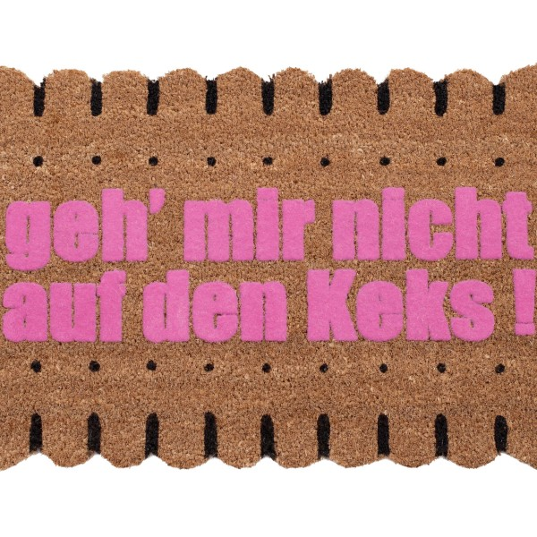 Kokos-Fußmatte 'Keks'