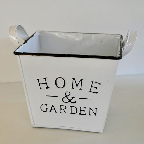 Blumentopf 'Home & Garden'