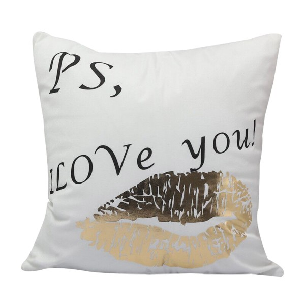 THE PILLOW Goldprint 'I LOVE YOU'