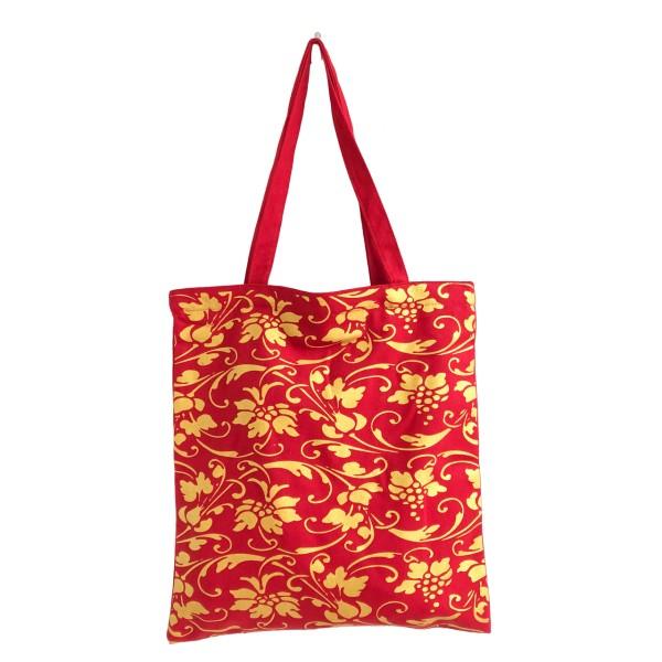 THE BAG 'Rote Ornamente'