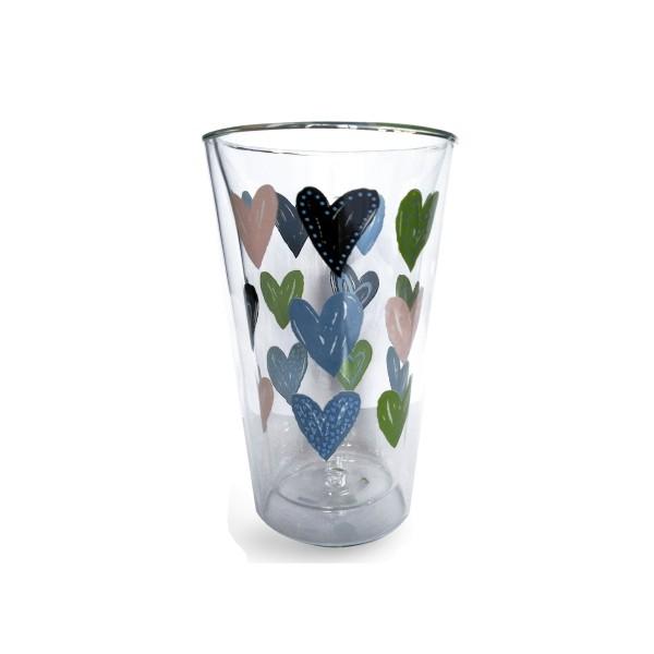 Thermoglas 'Hearts', 400 ml