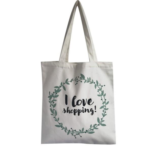 THE BAG 'I love shopping'