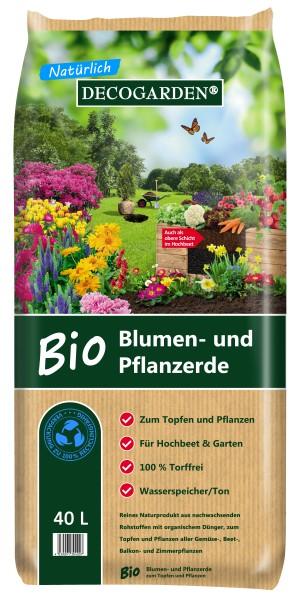 DECOGARDEN® Bio Blumen- und Pflanzenerde