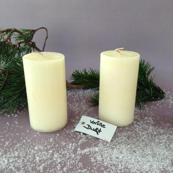 Kerze CLASSIC mit Vanilleduft, creme