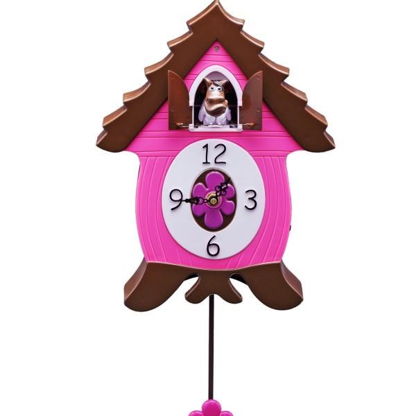 WhinnyCoo Clock, Wanduhr / Kuckucksuhr