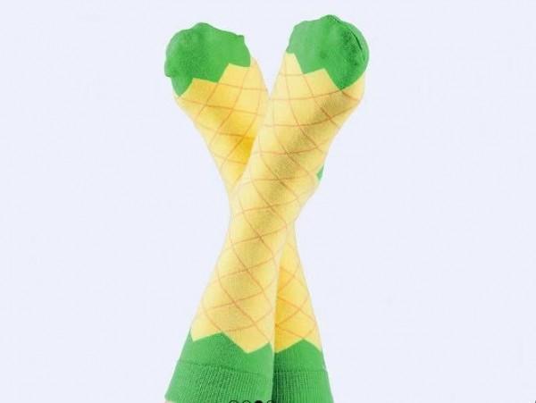 ICEPOP Socken - Eiscreme am Stiel 'Ananas'